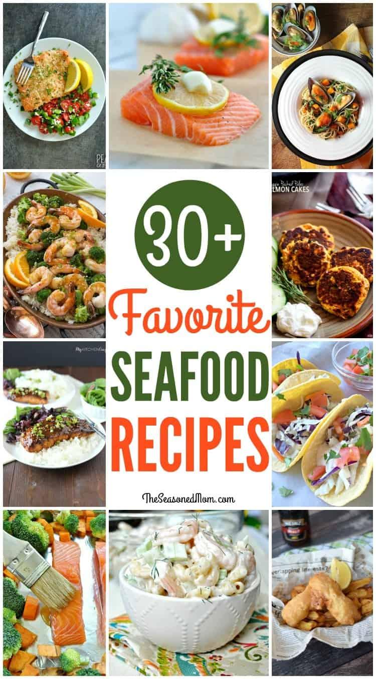 Favorite Seafood Recipes