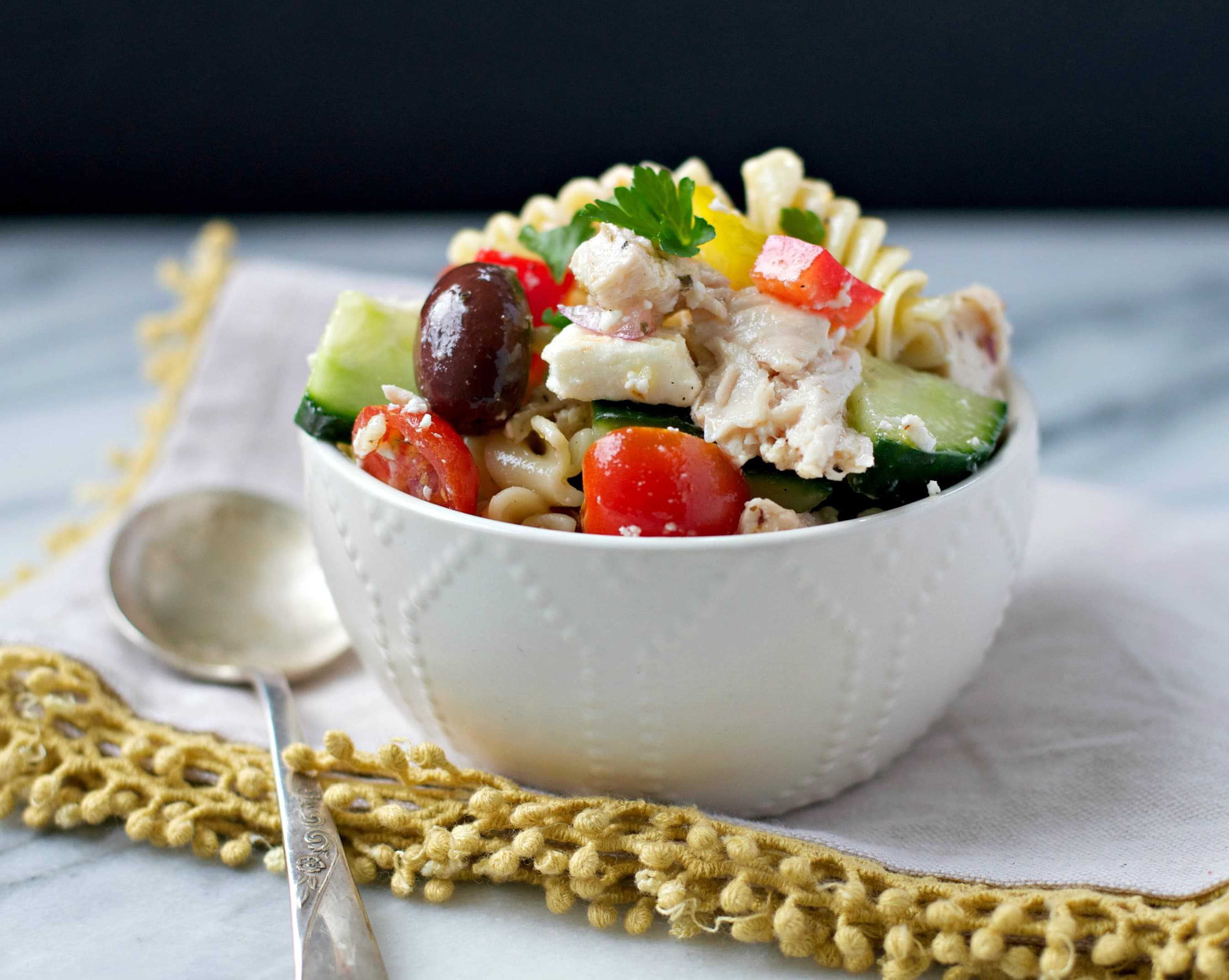 Greek Pasta Salad 1