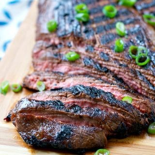 Mom's Easy Marinated Flank Steak