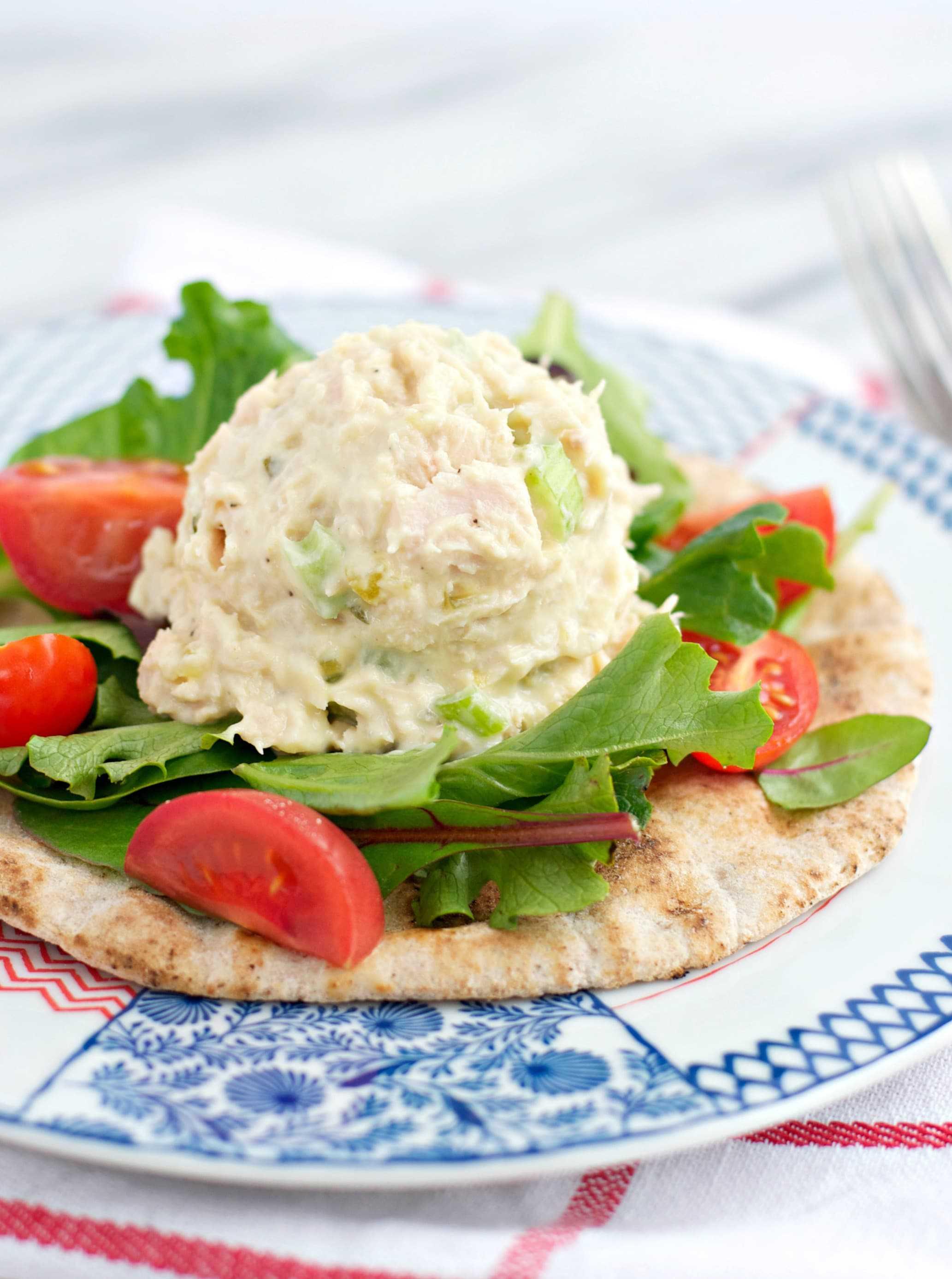 Tuna Salad Pita Pockets 3