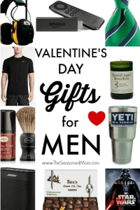 Long collage image of Valentine's Day Gifts for Men