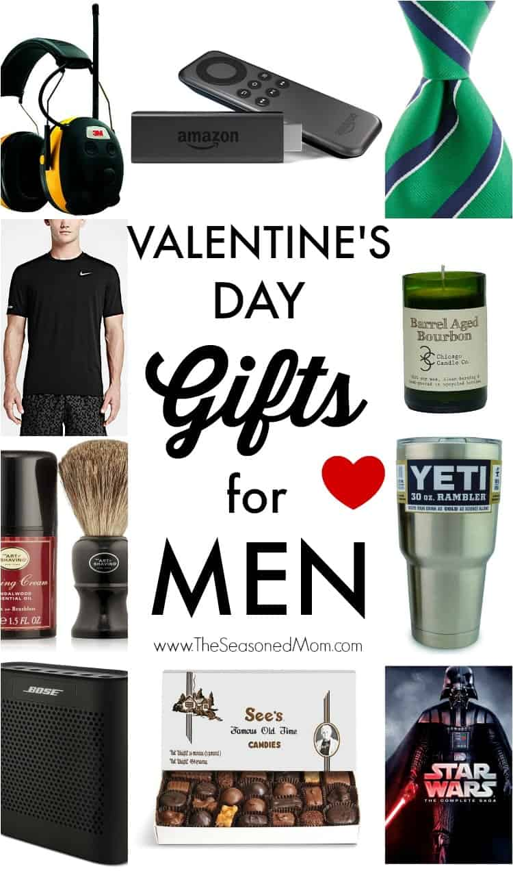 Valentine 39 s day gifts for men the seasoned mom for Small valentines gifts for him