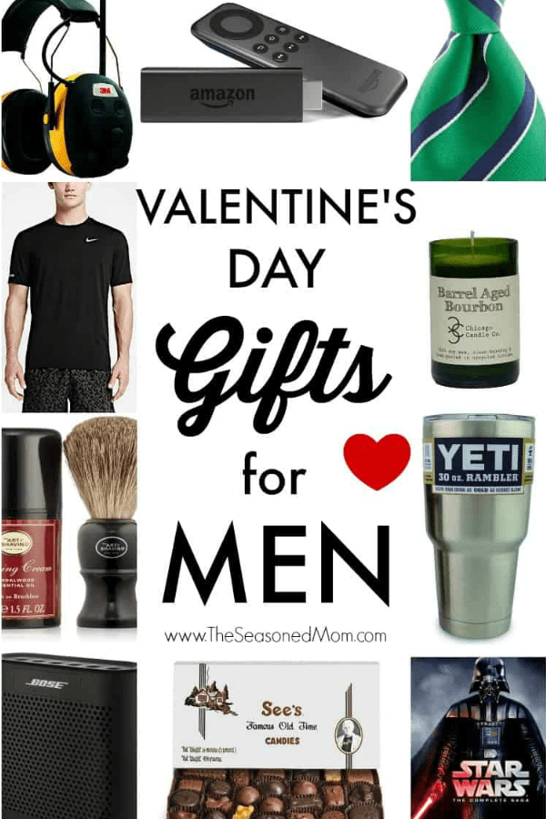 Collage of Valentine's Day Gifts for Men