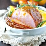 Easy Citrus Glazed Baked Ham