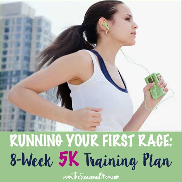 Running your first race? This 8-Week 5K Training Plan will get you there!
