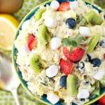 """""""Spring Fling"""" Fluff Fruit Salad"""