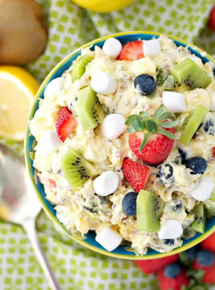 Spring Fling Fluff Fruit Salad 7