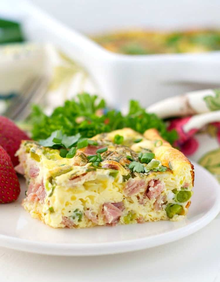 Spring's Finest Baked Omelet 6
