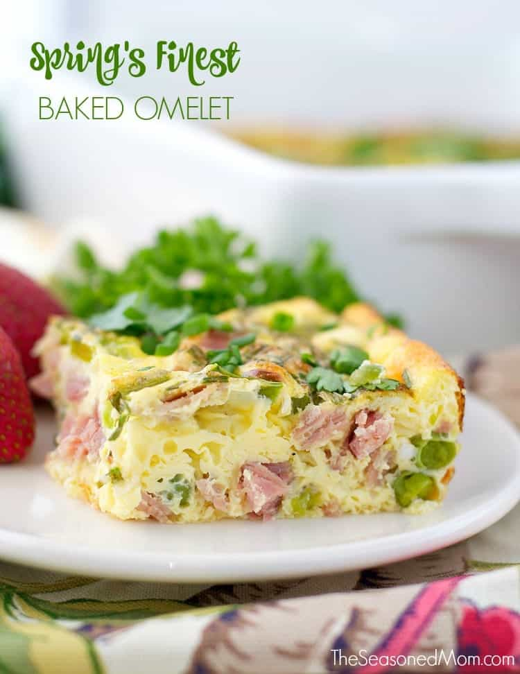 Spring's Finest Baked Omelet TEXT