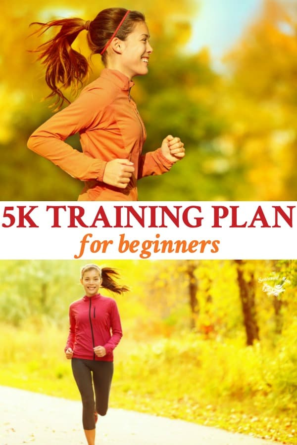Long collage of 5K Training Plan