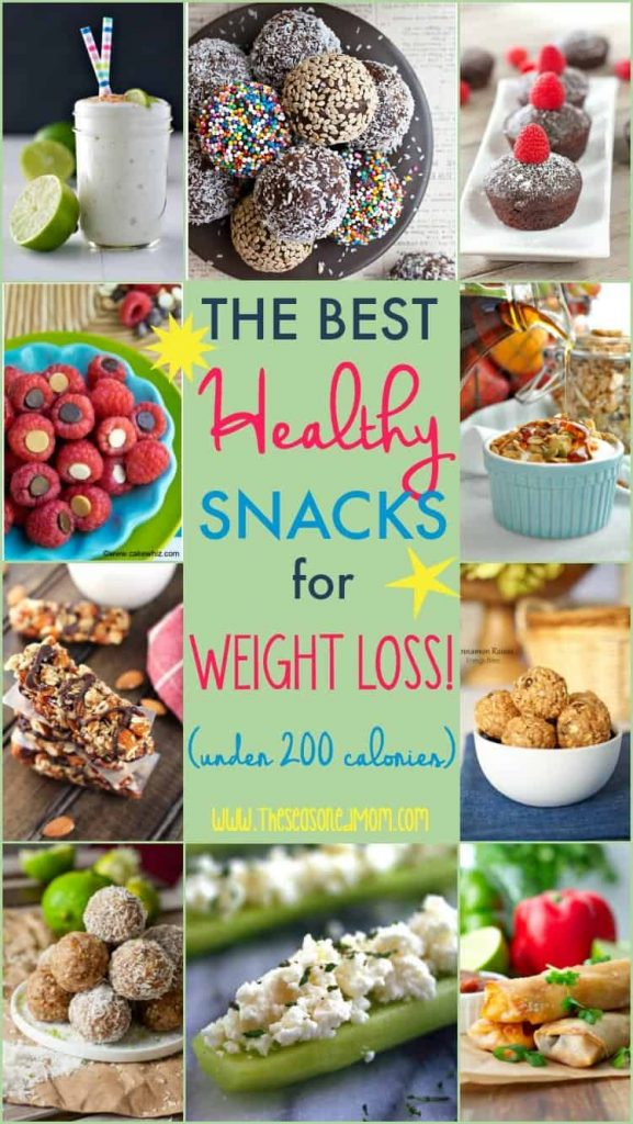 The Best Healthy Snacks for Weight Loss (Under 200 Calories!)