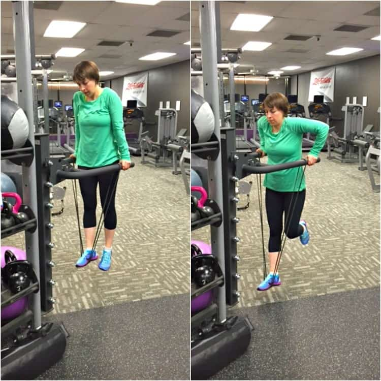 Assisted Tricep Dips