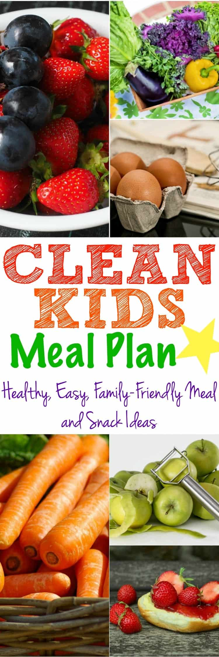 clean kids meal plan the seasoned mom. Black Bedroom Furniture Sets. Home Design Ideas