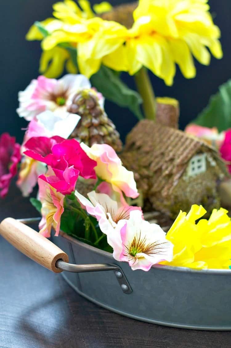 indoor fairy garden an easy craft for kids the seasoned mom