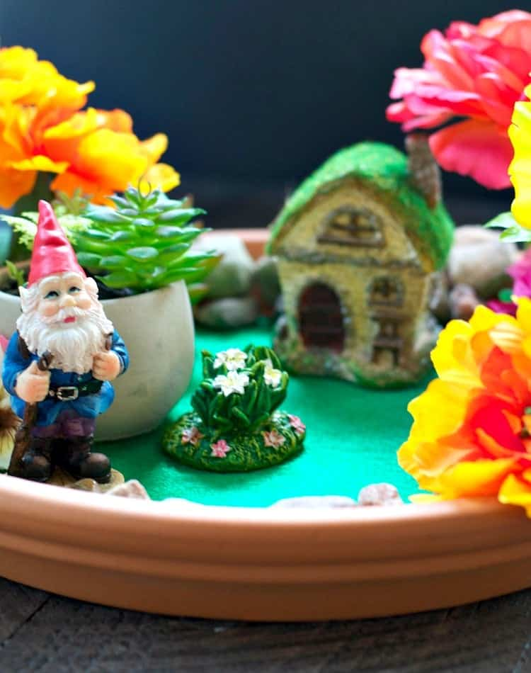 indoor fairy garden an easy craft for kids the seasoned mom. Black Bedroom Furniture Sets. Home Design Ideas