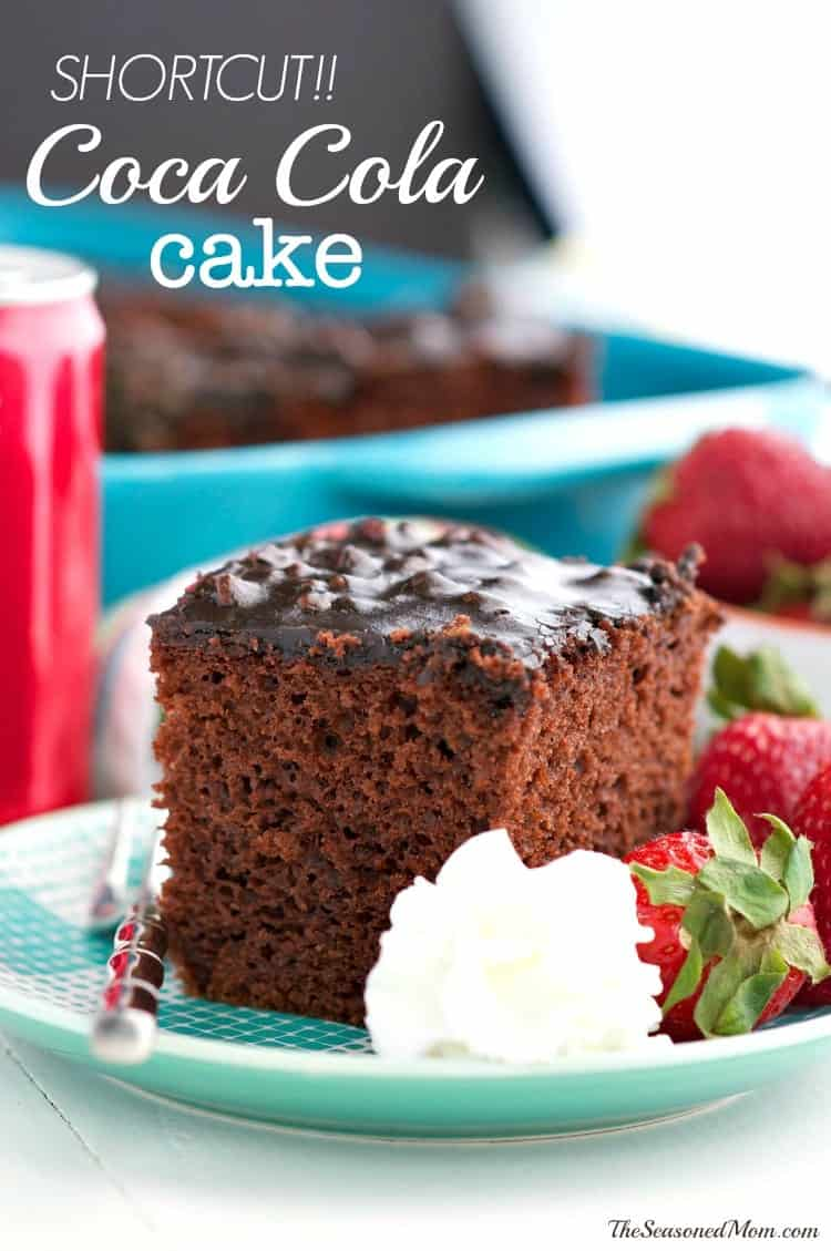 Shortcut Coca Cola Cake TEXT