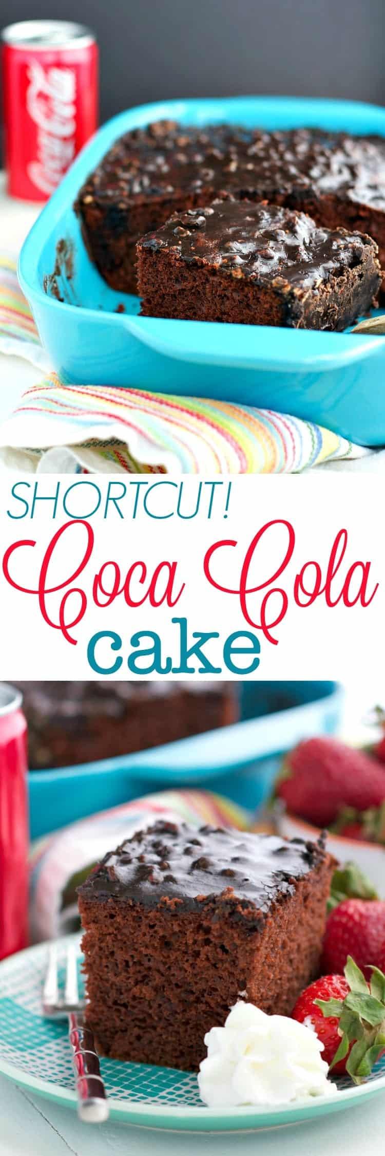 Coca Cola Cake Recipe With Box Mix