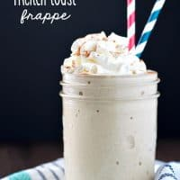 Skinny French Toast Frappe TEXT