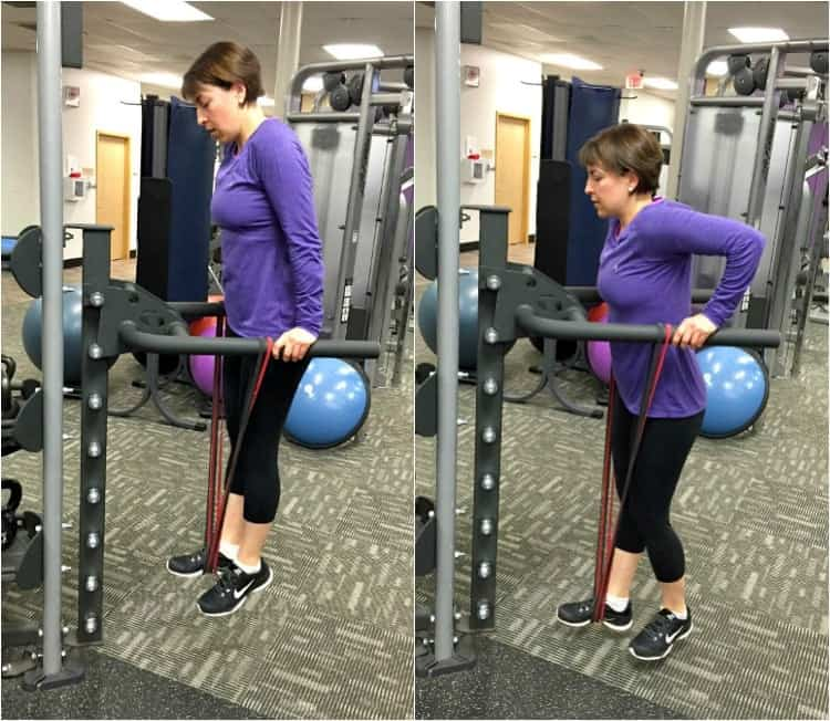 Strength Band Assisted Dips