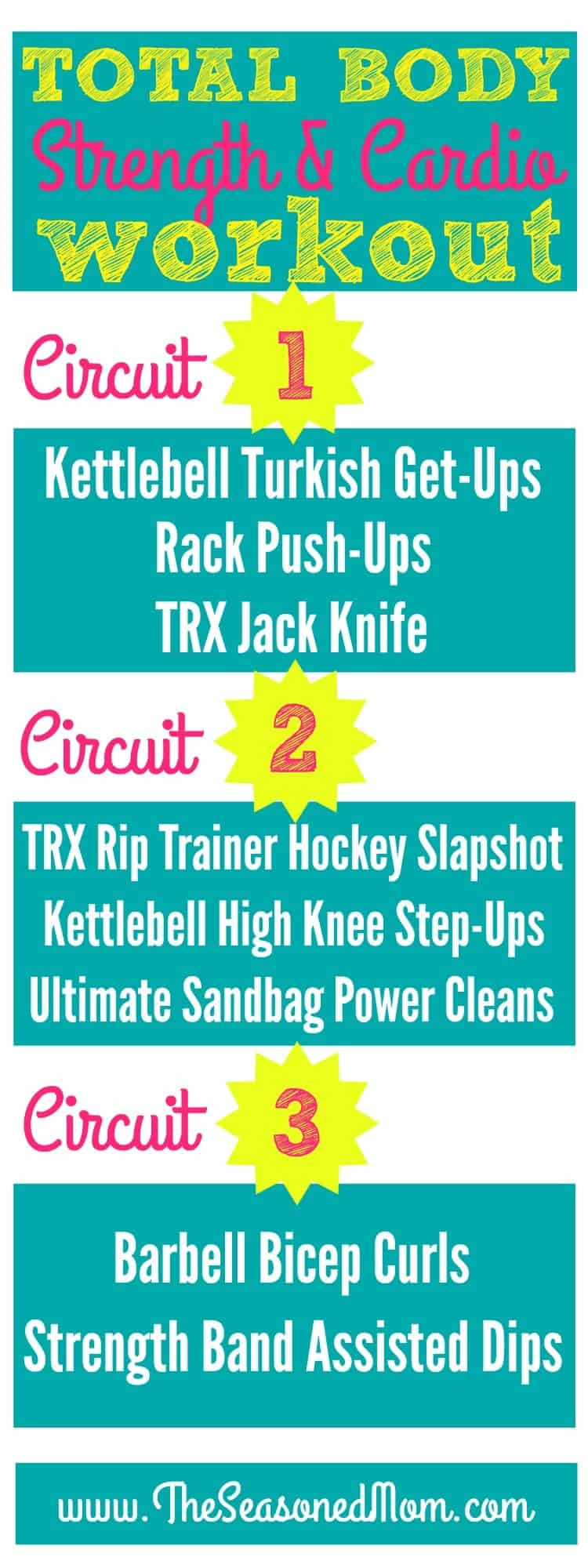 Total Body Strength and Cardio Circuit Workout