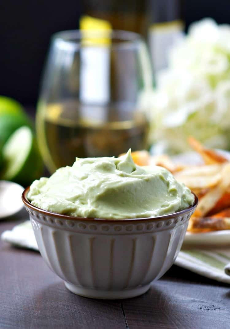 Every mom deserves a little rest and relaxation! With a glass of wine, a 2-Minute Avocado Dip, and some grown-up snacks, this is Mom's Ultimate Happy Hour!