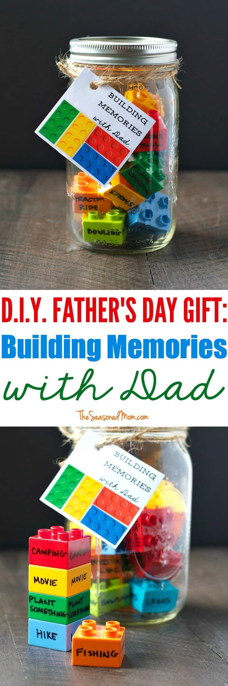 Diy Father 39 S Day Gift Building Memories With Dad The