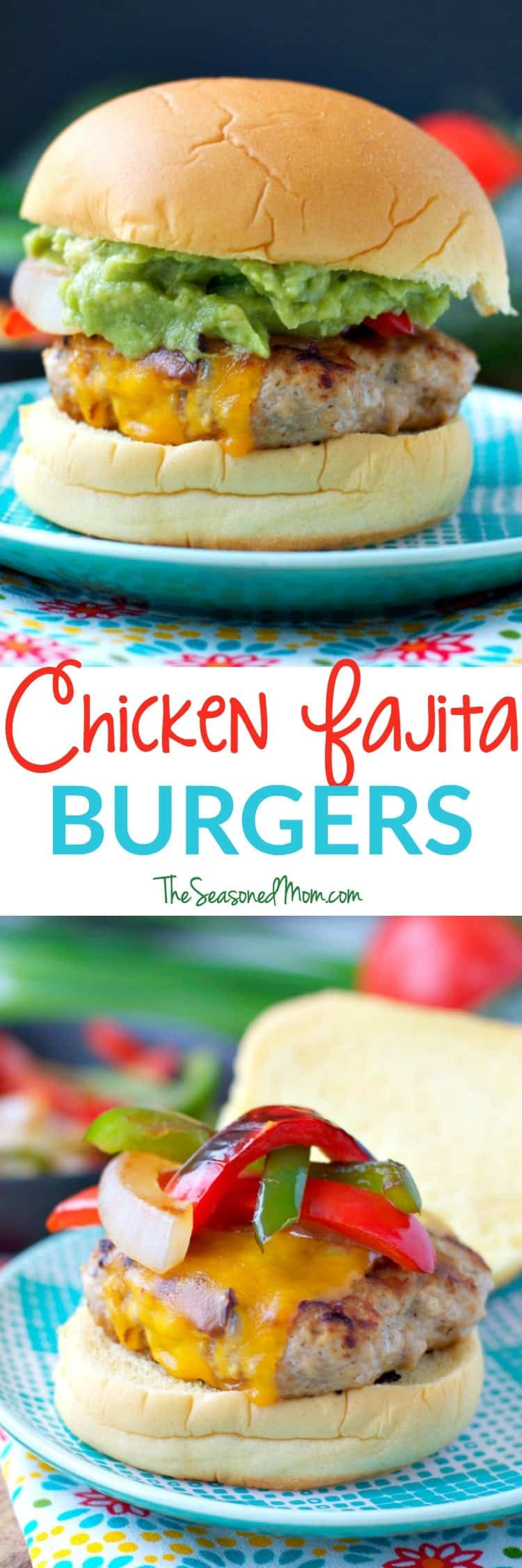 ... Fajita Burgers are an easy, family-friendly dinner that's ready in