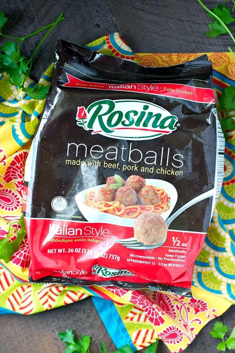 Dump And Bake Italian Meatball And Rice Casserole The