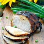 Balsamic Glazed Pork Loin