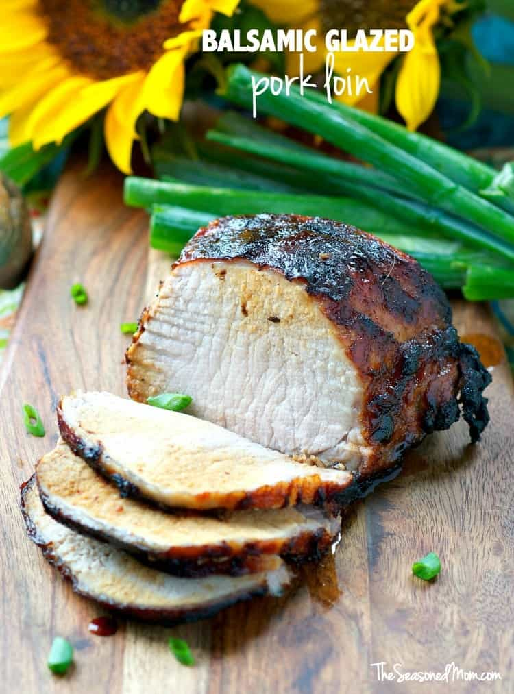 Balsamic Glazed Pork Loin TEXT