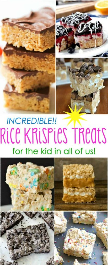 Incredible Rice Krispies Treats Recipes (for the Kid in All of Us)!