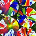 Easy Art Activity for Kids: Salad Spinner Painting