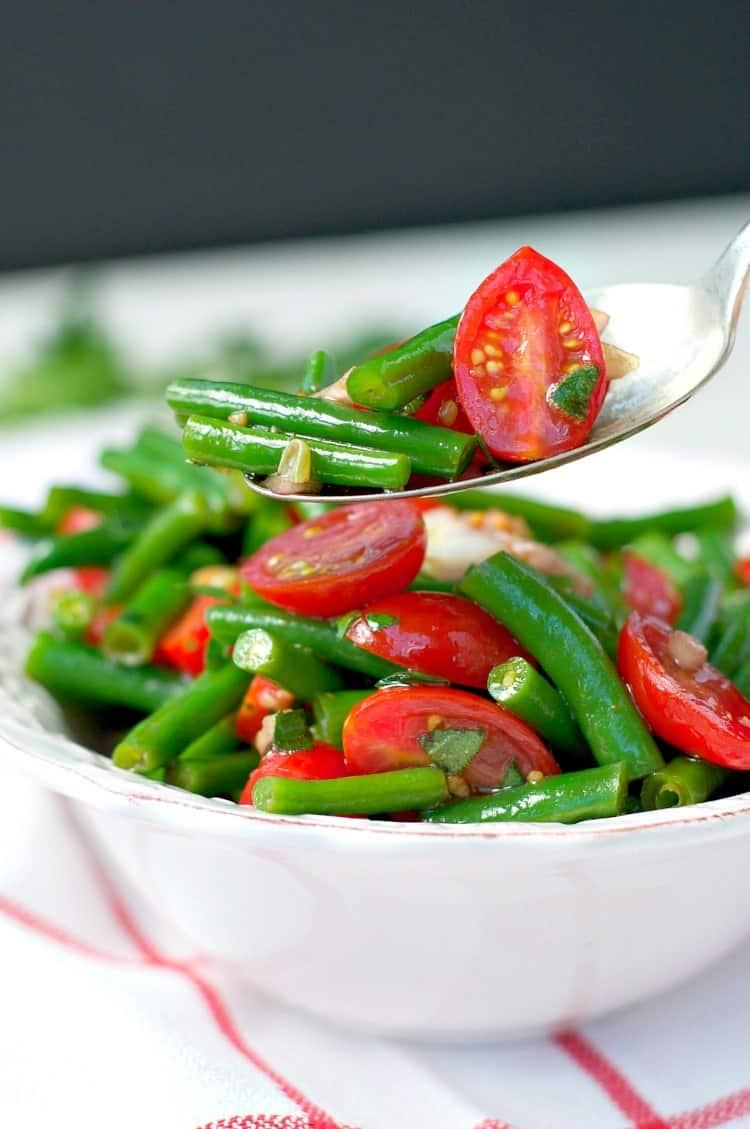 Simple Italian Green Bean Salad 100 Giveaway The