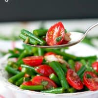 Simple Italian Green Bean Salad TEXT 2
