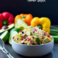 Southwestern Chicken Ramen Salad TEXT