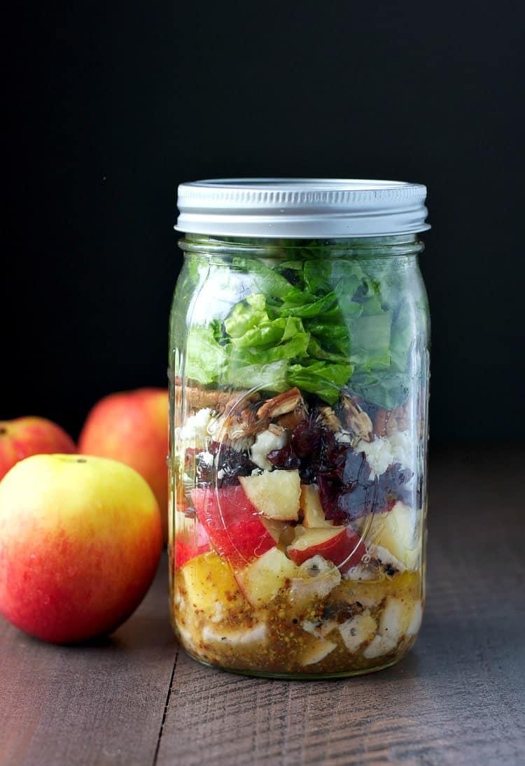 Apple Harvest Mason Jar Salads 2