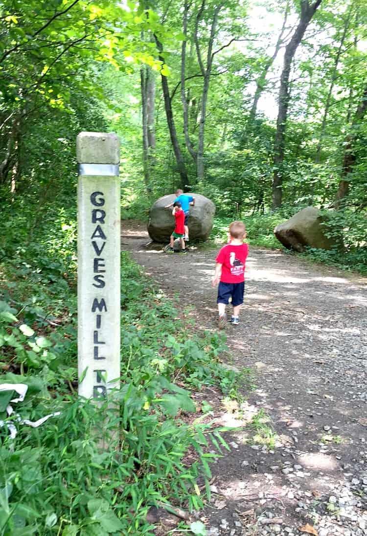 Graves Mill Rapidan Trail