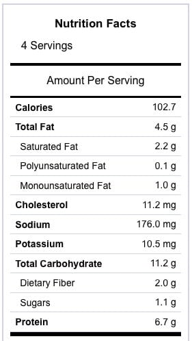 Grilled Cheese Croutons Nutrition Information