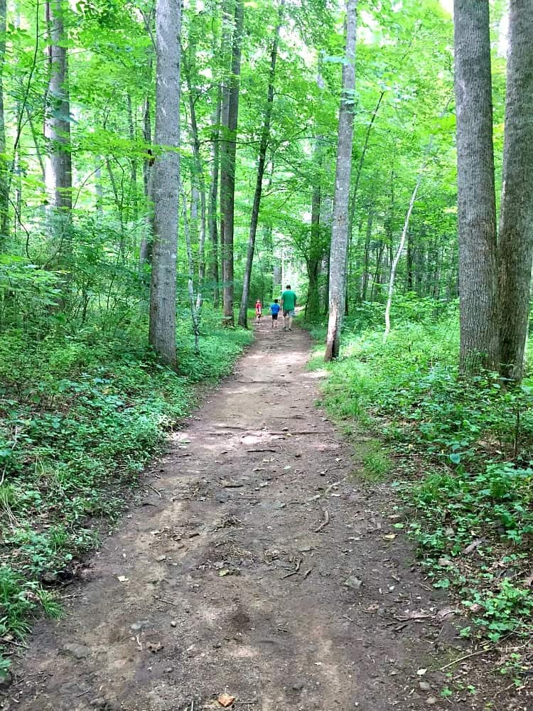 Hiking on Rapidan
