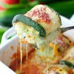 Pesto Zucchini Lasagna Roll Ups
