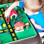 Homemade Gift for Kids: Sheet Pan Roads