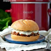 Slow Cooker Italian Sloppy Joes TEXT