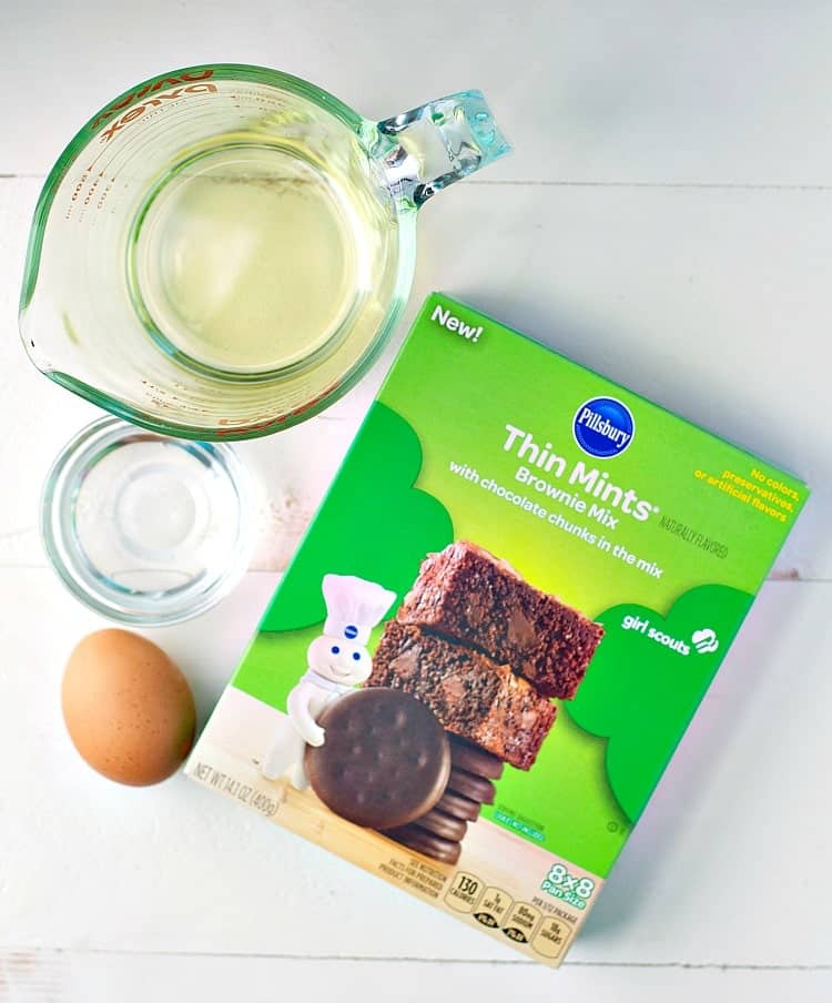 These Thin Mints® Brownies with Chocolate Chunks are a rich, chocolatey, and oh-so-decadent dessert! Best of all? They're made with a shortcut for quick and easy baking!
