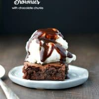 Thin Mints Brownies with Chocolate Chunks TEXT