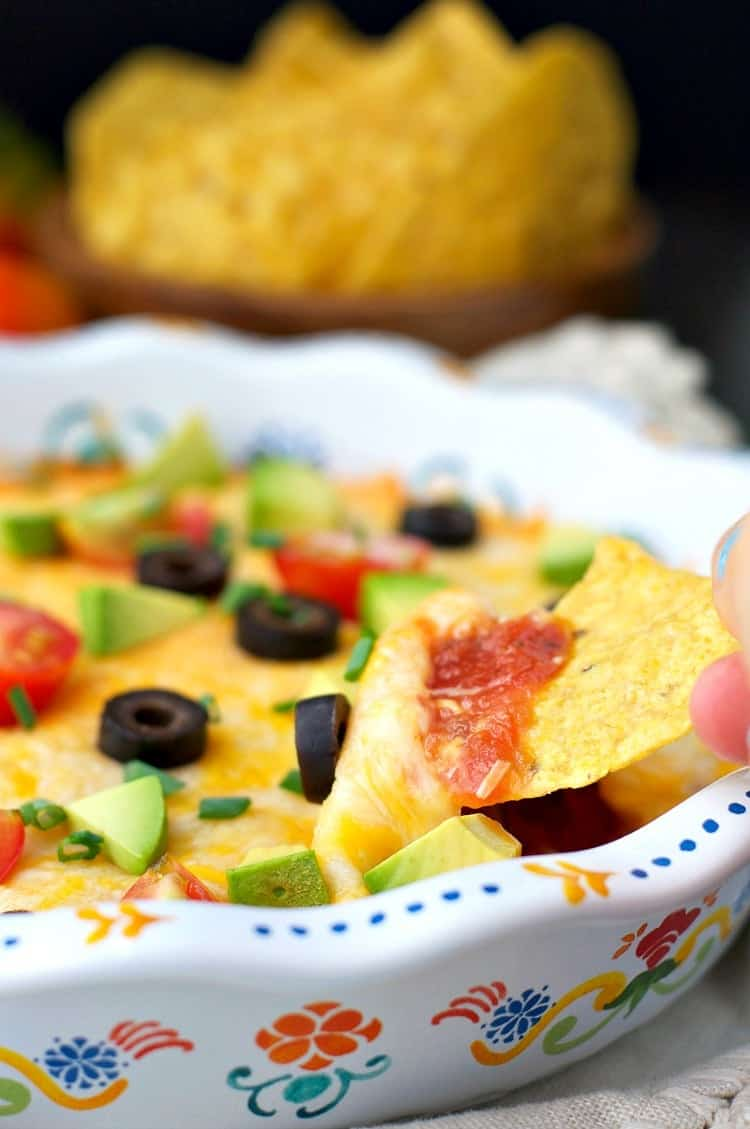 3 Ingredient Nacho Dip