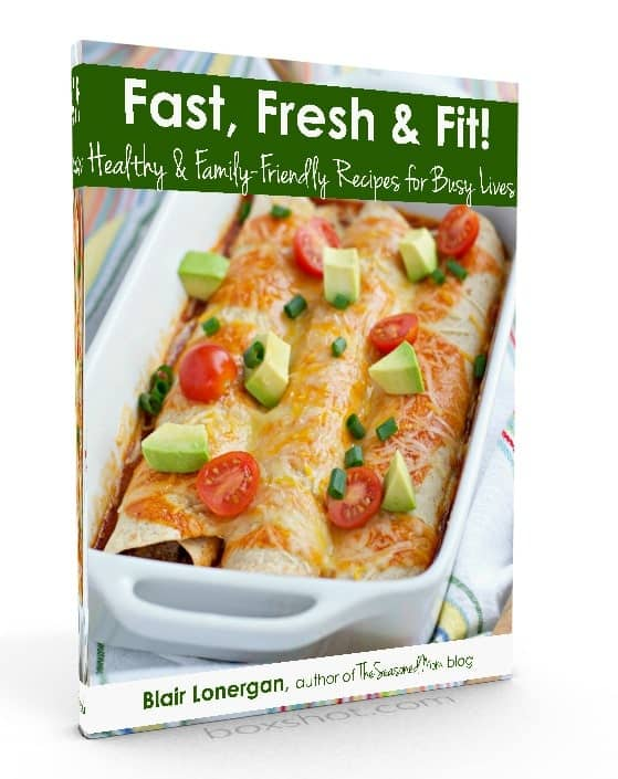 3D Fast Fresh and Fit Book Cover