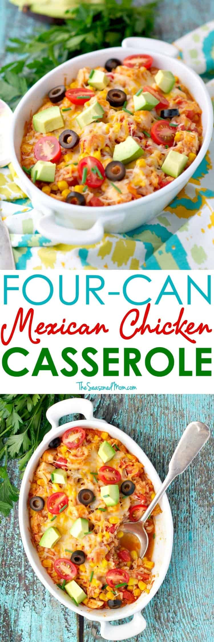 This 4 Can Mexican Chicken Casserole Comes Together In About 5 Minutes And Be Prepared