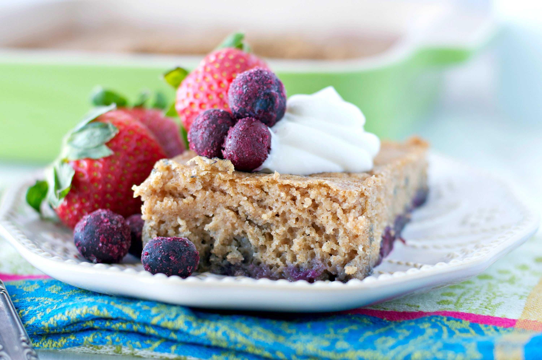 Baked Blueberry Pancake 1