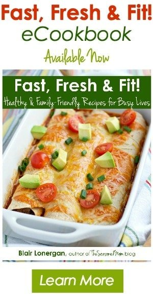 Fast Fresh and Fit ecookbook cover