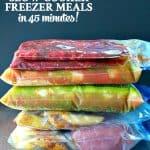 6 healthy freezer meals for the crock pot